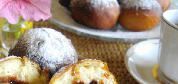 Берлинские пончики пошаговый рецепт с фото