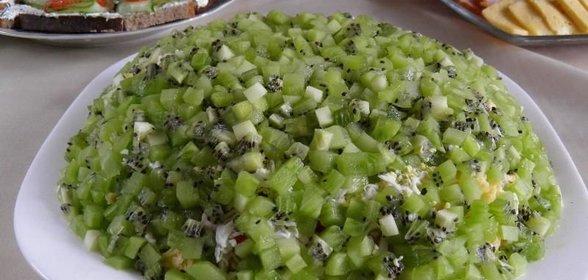 Фото рецепт салата с киви