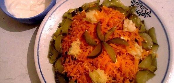 Салат обжорка рецепт пошаговый с