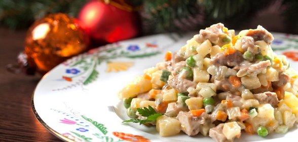 Салат домашний с копченой курицей рецепт