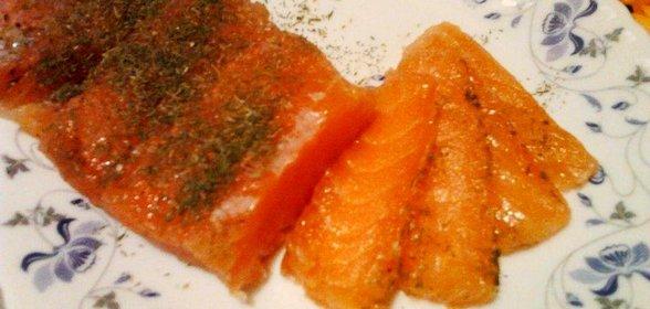 Сёмга соленая рецепт пошагово