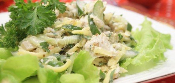 Салат из курицы вареной с фото