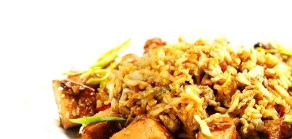 Жареный рис пошагово