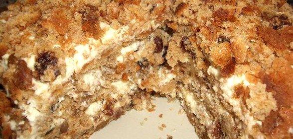 Пирог трухлявый пень пошаговый рецепт с фото