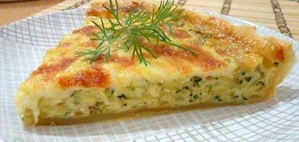 Кабачковый пирог в духовке рецепт с фото пошагово