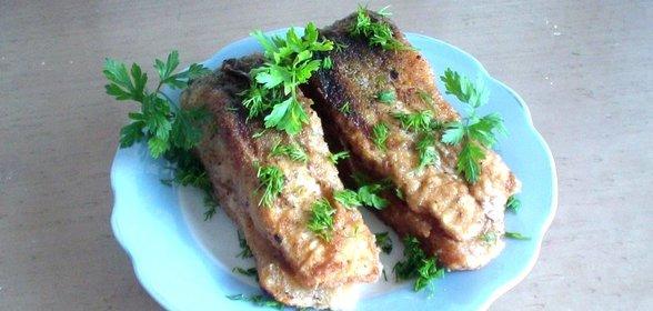Рыба жареная в духовке рецепт с пошагово
