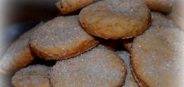 Домашнее сахарное печенье рецепт с пошагово