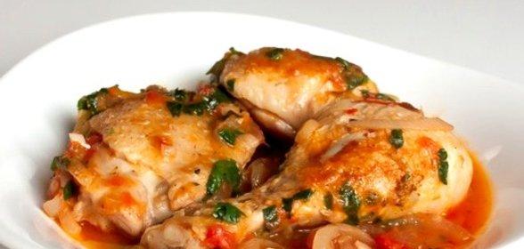 Рецепт чахохбили из курицы с помидорами в собственном соку рецепт