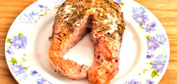 Стейк из лосося в домашних условиях