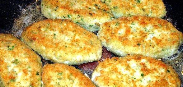 Рецепт котлет из рыбы с салом рецепт пошагово