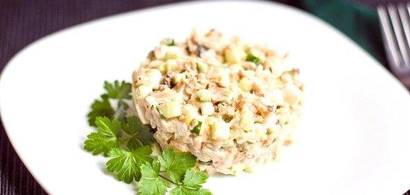 Блюда из горбуши рецепты с фото салат