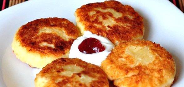 Как приготовить сырники из творога пошаговый рецепт на сковороде