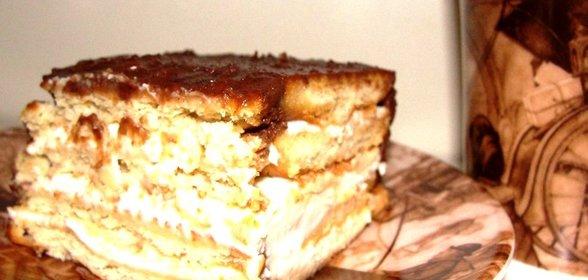 Торт из печенья рецепты с пошаговым