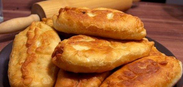Пирожки сковороде пошаговый рецепт фото