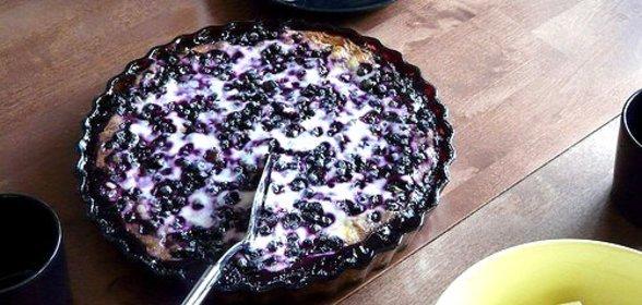Торт с черникой рецепт с фото пошагово