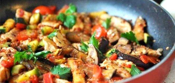 Рататуй рецепт пошагово в духовке с курицей рецепт