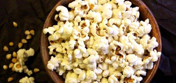 Попкорн сладкий рецепт с пошагово