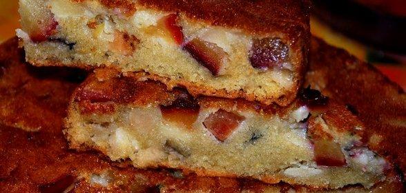 Пирог с вареньем на скорую руку в мультиварке рецепт с пошагово в