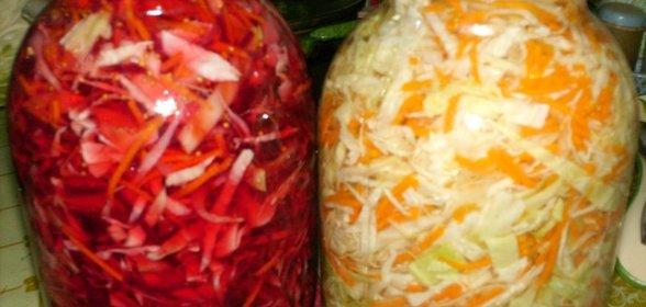 Домашние рецепты маринованной капусты