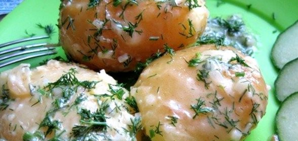 Рецепты вареной картошки фото