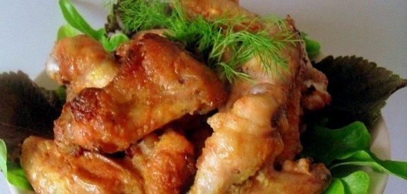 Куриные крылышки острые рецепт пошагово