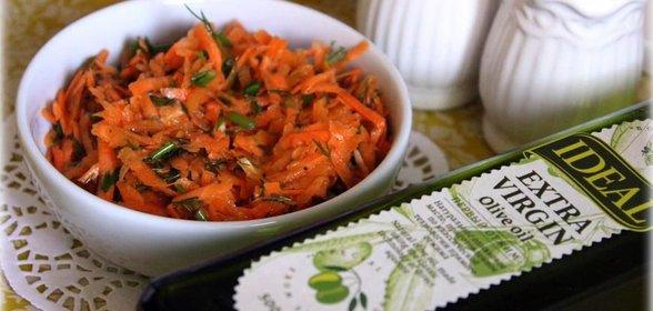 Салаты из свежей моркови рецепты простые и вкусные рецепты