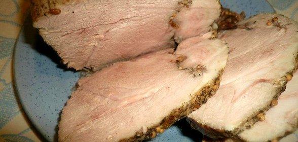 Рецепт из лопатки свиной простой