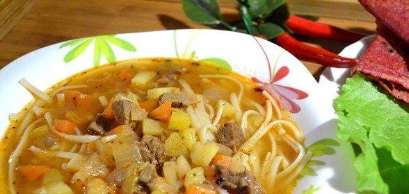 Вкусные и простые супы с говядиной