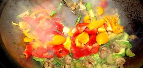 Овощи вок рецепт с фото