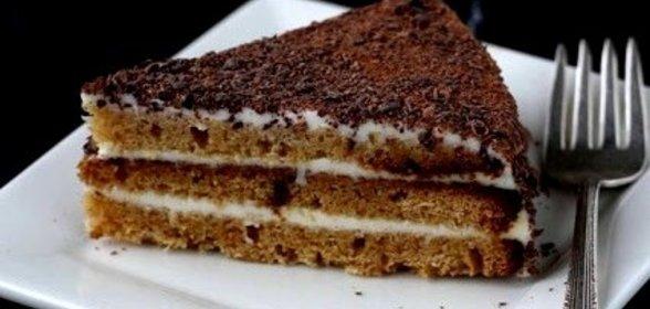 Простые тортики в домашних условиях на сметане