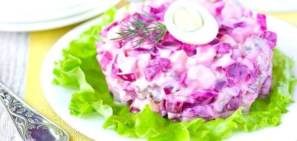 Салат из свеклы и яйца рецепт с
