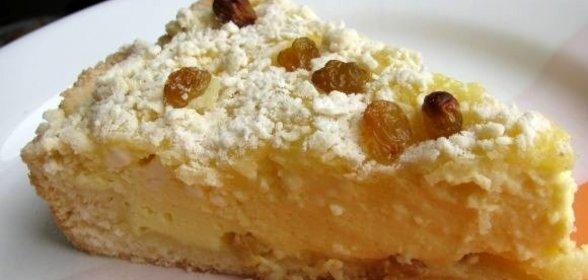 Пирог с творожной массой рецепт