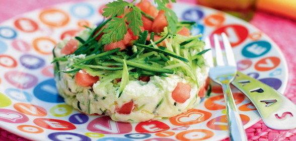 Летние салаты легкие рецепты