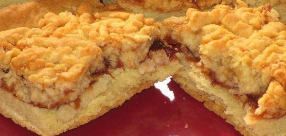 Пирог с вареньем на кефире: рецепт с фото пошагово