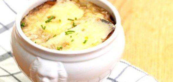 Луковый суп рецепт с пошагово