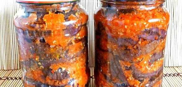 Рецепт заготовки икры баклажанов на зиму