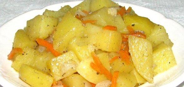 Тушеные овощи рецепт с пошагово в мультиварке