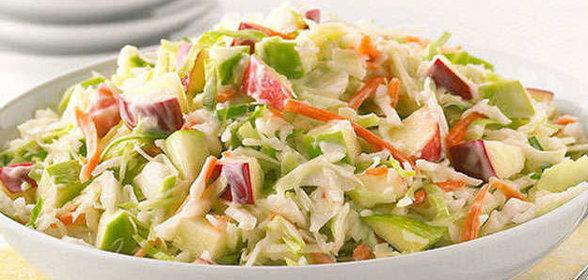 салат из капусты и яблок рецепт