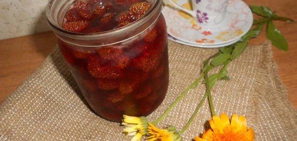 Пошаговый рецепт клубничного варенья с фото