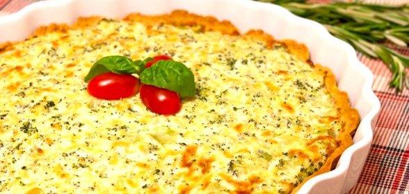 Пирог с брокколи и брынзой рецепт