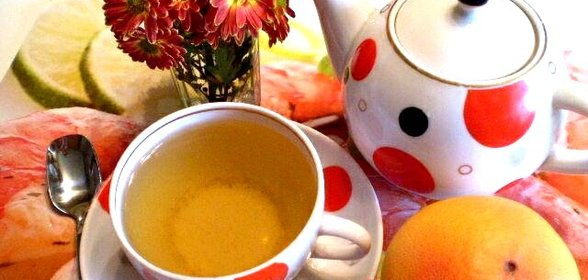 Чай из апельсиновой цедры