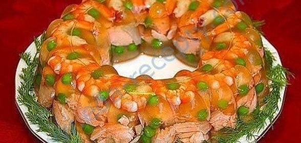 Заливное из сёмги рецепт пошагово