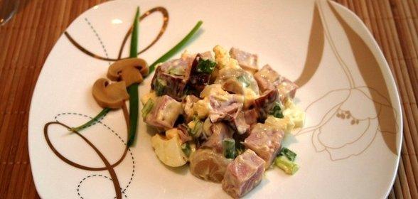 Салат дубок рецепт пошагово с фото