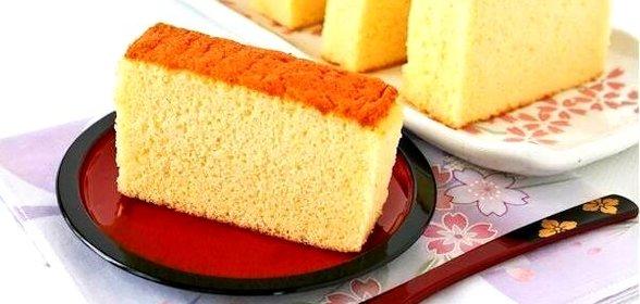 Японский бисквит рецепт пошагово в
