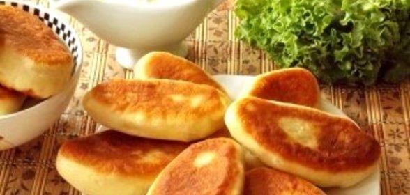 Коржики на сметане  кулинарный рецепт