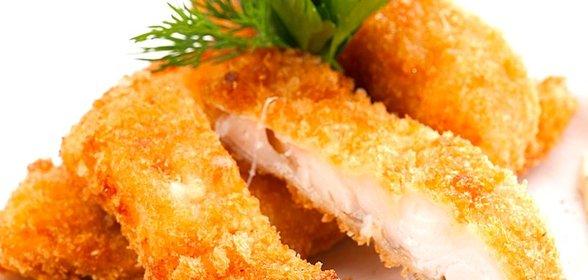 Куриный шницель в панировке рецепт с фото пошагово