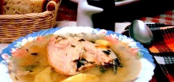 Рецепт рыбного супа из лосося