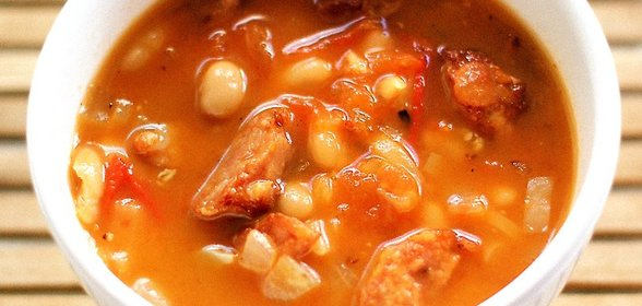 Суп рассольник рецепт с пошагово с колбасой