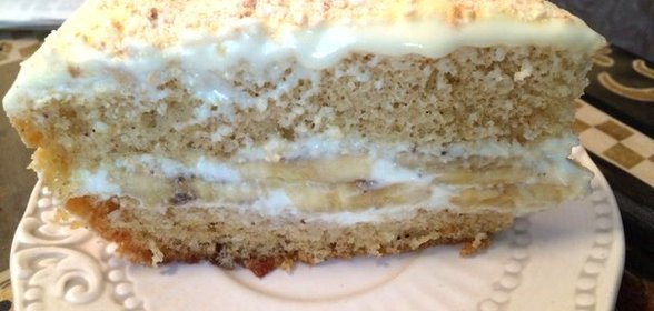 Рецепт бананового торта в домашних условиях с пошагово