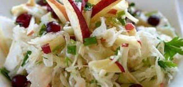 Салаты из квашеной капусты с пошагово